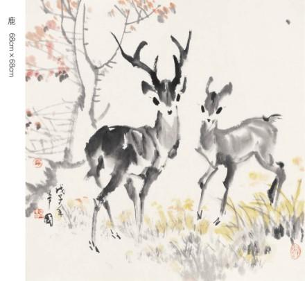 作品名称 鹿